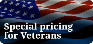 Special pricing for veterans